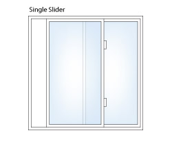 Single Slider Window