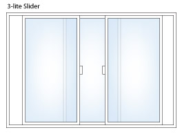 3 lite Slider Window