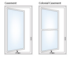 Casement and Colonial Casement Window